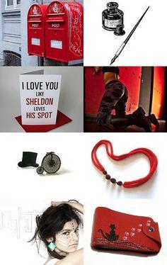 I love you like Sheldon loves his spot... etsy treasury