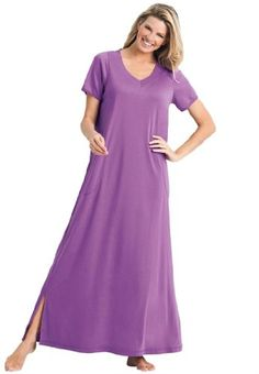 Save $18.00 on Dreams Women`s Plus Size Maxi Lounger; only $26.77