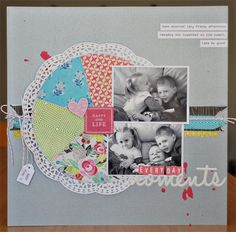 Scrapbook Sleuth#03 Sample by Sheree Forcier