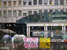 Ljubljana, Slovenia - October 20, 2011:The first snow on the... #krize: Ljubljana, Slovenia - October 20, 2011:The first snow on… #krize