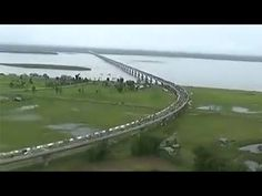 This is how India's longest 'Dhola-Sadia' bridge looks like from the top | india-news | videos | Hindustan Times