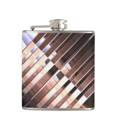 Sci-Fi MM 22 Wrapped Flask