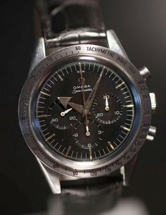 Speedy Tuesday The Very First Omega Speedmaster CK2915 From 1957