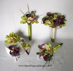 dendrobium orchid wedding assortment