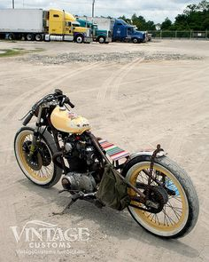 Los Muertes Vivientes by Vintage Customs, Yamaha XS650
