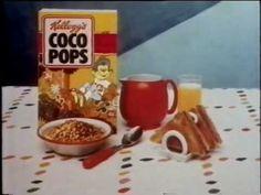Kellogg's Coco Pops -mainos (1990) - YouTube Mtv, Retro, Tableware, Youtube, Dinnerware, Tablewares, Retro Illustration, Dishes, Place Settings