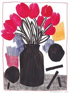 ukulelemaupetit:  Léa Maupetit, Tulip mania - http://wp.me/p6qjkV-jBU  #Art