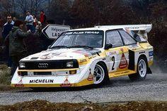 Monte Carlo 1986 Walter Röhrl. #wrc #wrcofficial #rally #rallye #audi…