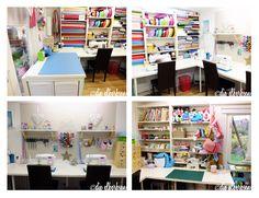 My sewing house. Mein Nähhäuschen ♥