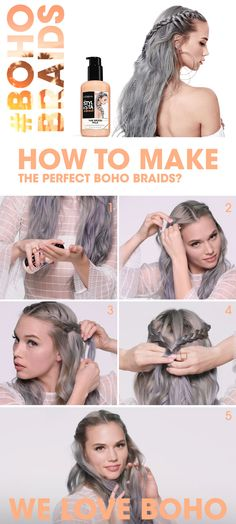 How to get the perfect #festivallook? Go BOHO! Get your best #Festivalhair with Stylista!