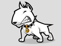 Atom Mascot Design