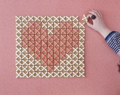 Cross stitch cookies by Jessica Decker