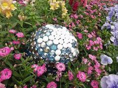 DIY solar gazing ball - Google Search