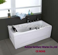 Freestanding Hydromassage Whirlpools& Cheap Bathtub Economical& Indoor Square Corner Bathtub $390~$580