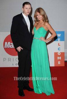 Millie Macintosh Strapless Prom Dress Brit Awards 2012