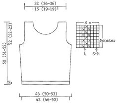 DROPS 60-13 - Short DROPS top in Muskat - Free pattern by DROPS Design