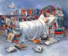 Claire Fletcher.  This is exactly what my bedroom looks like!