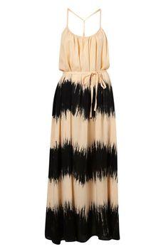 Black & Beige Tie-Dye Dress, £35 at Topshop