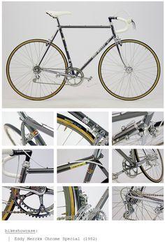Eddy Mercx 1982 Chrome Special
