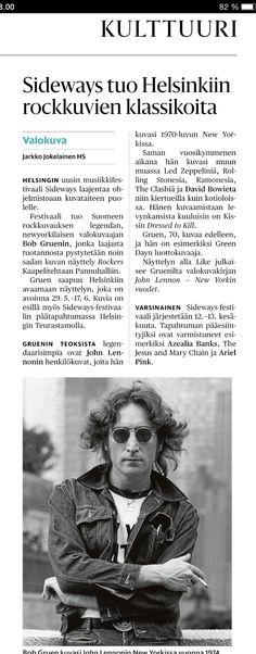 Bob Gruen, Rockers @ Kaapelitehtaan Pannuhalli, Helsinki 29.5-17.6.2015