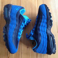 47736c24b910 Nike Air Max 95 SI US 11 UK 10 EUR 45 AM95 AMX Military Blue Pack