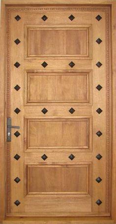 Custom Rustic Doors - Clavos 4-Panel Doors