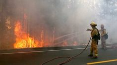 State Of Emergency Declared As Yosemite Wildfire Quadruples In Size