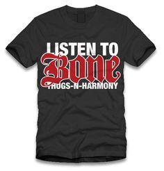"The Life: ""Listen to Bone Thugs-n-Harmony"" T-Shirt"