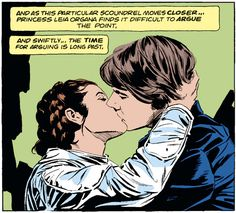 The time for arguing is long past Star Wars Written by Archie Goodwin Art by Al Williamson and Carlos Garzon Star Wars Love, Star War 3, Star Wars Art, Han Solo Leia, Han And Leia, Cuadros Star Wars, Saga, Anakin And Padme, Original Trilogy