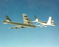 Fairchild bird 61-1007 hitting a Fairchild KC-135R.