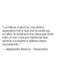 Novecento - Baricco
