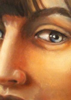 Ritratto di Mara 2005 olio su tela