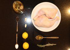 Rosmarin-Weißwein-Huhn