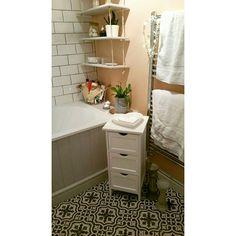 Finished bathroom 😍 #bathroomdecor