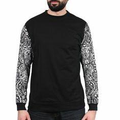Savage Couture - Bandana Sweater Noir