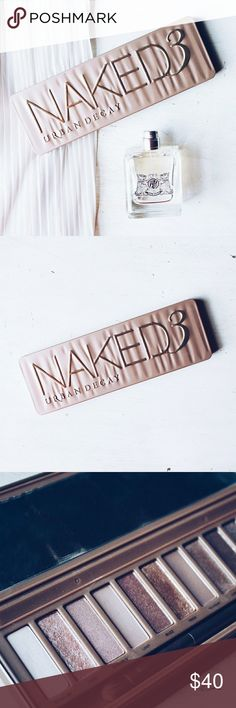 Brand New Naked 3 Pallette by Urban Decay Selling because I had lost my other Naked 3 Pallette. I bought this and intended to use it, but found my other Naked 3 Pallette shortly after I purchased this.  Urban Decay Makeup Eyeshadow