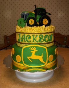 John Deere cake!!