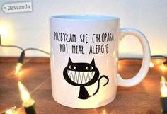 Fajny kubek dla kociary Lol, Humor, Mugs, Tableware, Funny, Happy, Etsy, House, Dinnerware