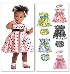 Diy Sewing PatternMcCall's 5791Baby Dress and by loschiquitos, $5.00