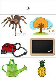to learn sounds: Montessori method Montessori Education, Montessori Activities, Educational Activities, Learning Activities, Kids Learning, Learning Through Play, Alternative Education, Alphabet Cards, Speech Therapy