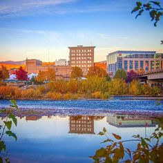 Fall in downtown Missoula, Montana
