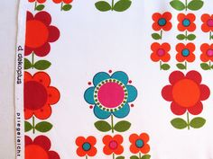amazing rare vintage fabric from Jane Foster Blog