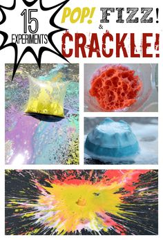 These science experiments for kids are a great alternative or addition to fireworks during the holiday season. Check out these POPPING science experiments.
