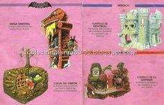 Coleccionismo 80-90: MASTERS DEL UNIVERSO: MINICATÁLOGO 1988 - Mattel España