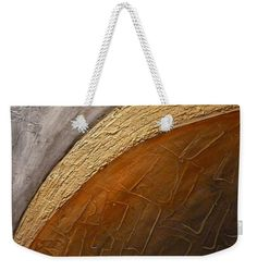 Modern abstract painting on weekender Tote bag. Fine art piece, about original abstract oil painting of Ágota Horváth. Very usefull  big Tote bag for weekend trips or for to the Beac, for You, for your Family or for present to girlfriends. You can order on http://pixels.com different size and with this design other products also - towels, pillow, duvet cover and many more other products. Have a fun!