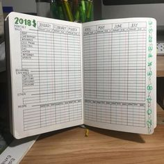 bullet journal yearly financial layout money saving bills tracker expenses income