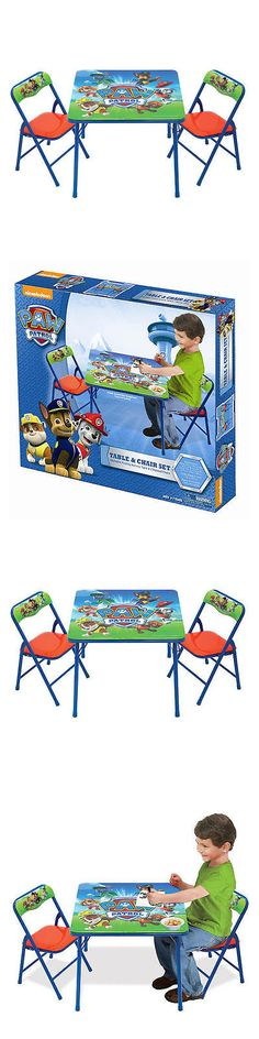 Bedroom Furniture 66742 Nickelodeon Paw Patrol Activity Table And 2 Chair Set BUY