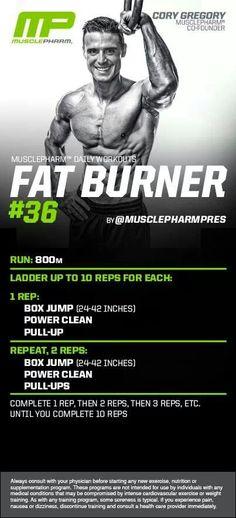 MusclePharm Fat Burner#36