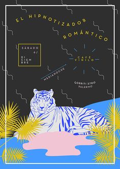 EL HIPNOTIZADOR ROMÁNTICO - Flyer on Behance