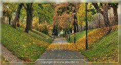 Sibiu Parcul Cetatii Romania, Sidewalk, Side Walkway, Sidewalks, Pavement, Walkways